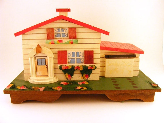 Jewelry Box House Musical 1970's