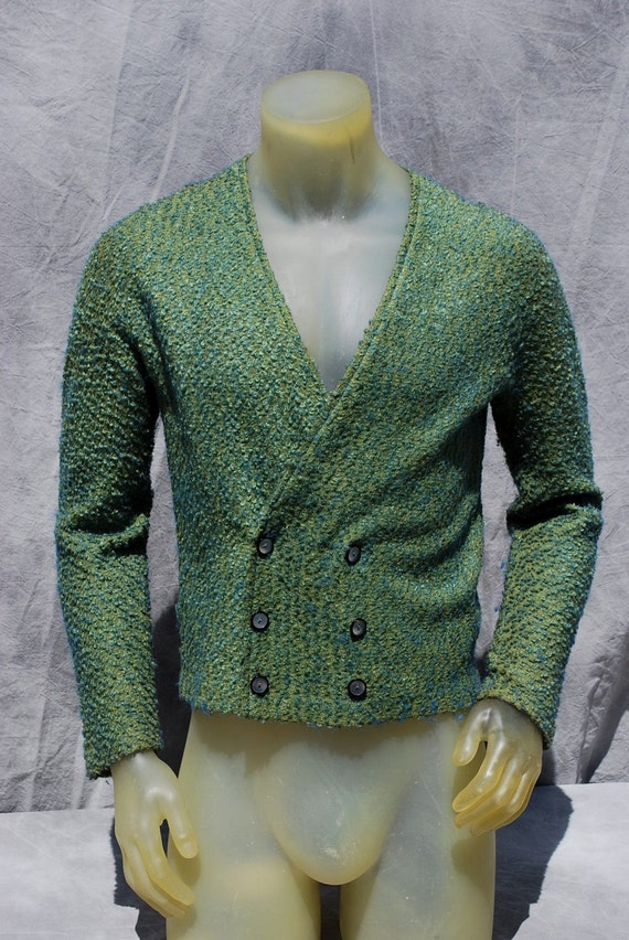 Men'S Cardigan Polyester Sweater Acrylic 85