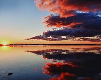 Prince Edward Island Canada Sunset Nature Photography Art
