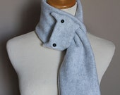 Smoke Gray Cat Scarf