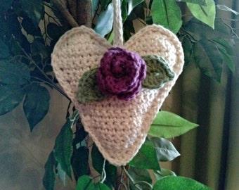 Valentine's Heart Sachet Ornament