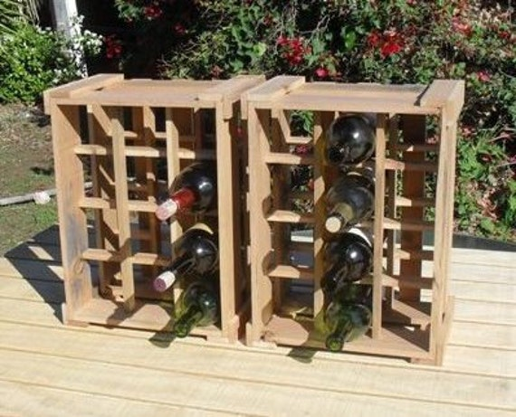 Small space wine racks can be stacked or used by wineracksolutions - Wine rack for small spaces property ...