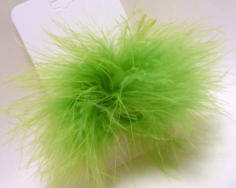 Marabou Puff Hair Clip your choice out of 9 colors
