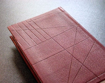 Leather Journal Notebook - Wine