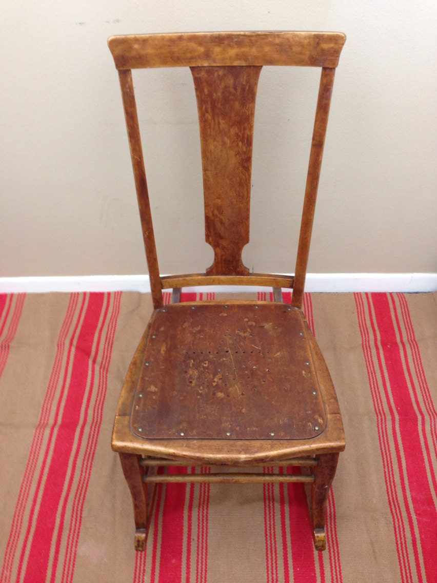 Rare Early American Rocking Chair
