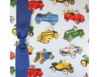 Tight Bound Baby Memory Book - Vintage Cars