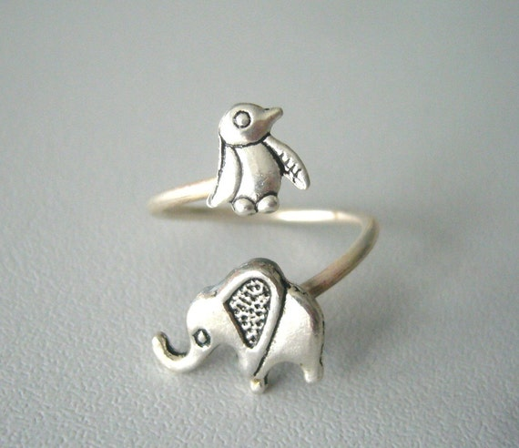 Penguin Promise Ring