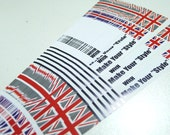 Union Jack - Make Your Style -  Origami Lucky Star Folding Paper - pack of 40 strips