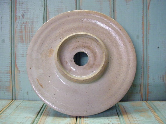 Old Churn Lid Crockery Lid Butter Churn Lid Pottery Lid