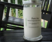 2 for 34 SPECIAL-You Choose Scents-Natural Vegan Soy Candle-Dye Free-Eco Friendly-Max Scented-Premium Soy Candle 21oz Jar