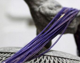 The shiny purple chain