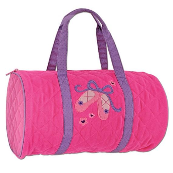 ballet duffle bag personalized stephen joseph by cutepolkadots
