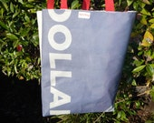 RBEF Recycled, Upcycled, Repurposed Donor Tote Bag: Olla!