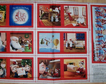 An Adorable Christmas Elf on the Shelf Elf Story Soft Book Panel Free U.S. Shipping