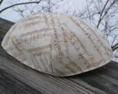 Music Notes Kippah or Yarmulke