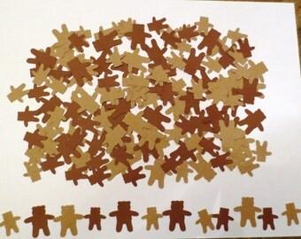 Teddy Bear Die Cut Confetti-Set of 200