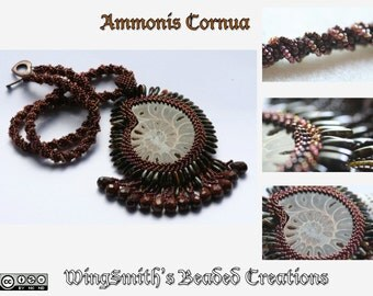 Ammonis Cornua - A one of a kind statement necklace