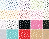 Oilcloth By The Yard Dots Your Choice of Color