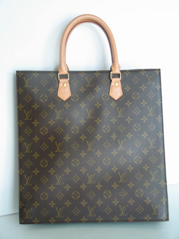 louis vuitton tote bag purse vintage made in france mint. Black Bedroom Furniture Sets. Home Design Ideas