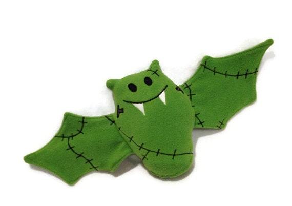 Franken - Bat  - Stuffed Animal Toy - Ready to Ship