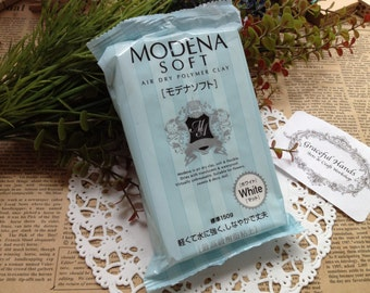 Modena Soft Air Dry Polymer Clay - 150g - Padico Brand (Made in Japan)