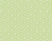 Green Tonal Hexi Geometric Flannel, 1 Yard