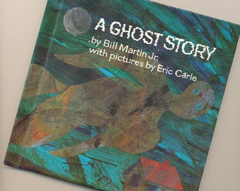 SALE Halloween Ghost Story Bill Martin Eric Carle illustrated Book