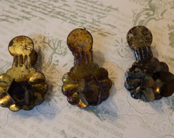 Vintage Antique,Metal,Candle Clips for the Holiday Christmas Tree