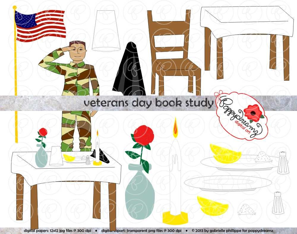 Clipart Veterans Day Veterans day book study clipart 300 dpi ...