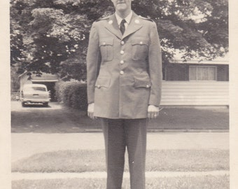 Man in Uniform - Vintage Photograph (NN)