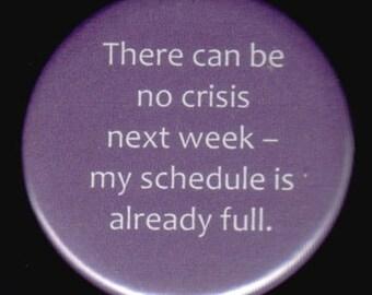 NO Crisis Button