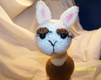 Crochet llama ANY colors you want