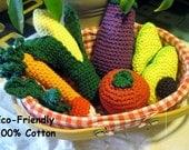 Crochet Cotton Garden Harvest Set