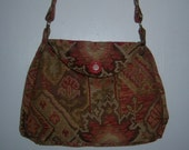 Tapestry Fabric Purse