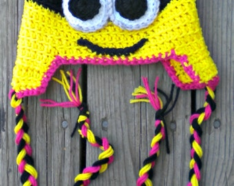 Custom made minion hat