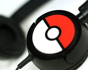 GOTCHA! Pokemon-Inspired Custom Headphones