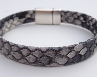 Genuine Python Leather bracelet