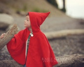 Little Red Riding Hood Cape - PDF Sewing Pattern