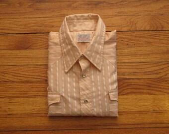 mens vintage H bar C western shirt