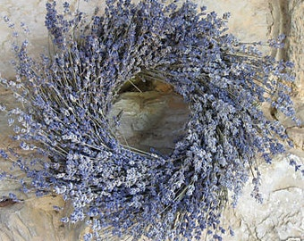 "16"" Lavender Wreath - Dried Flowers"