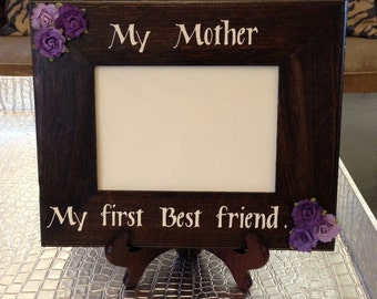 Mother's Day Gift Mom Mother Personalized Picture Frame 5x7