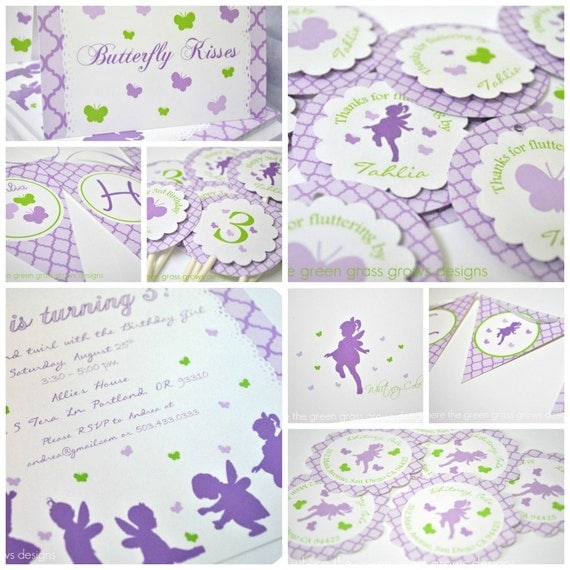 Butterfly Fairy Party Package