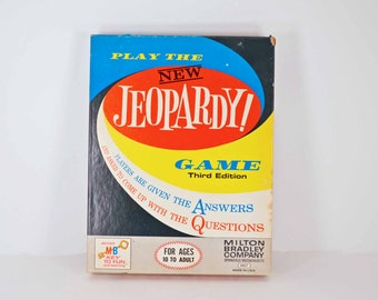 Jeopardy Board Game - Third edition