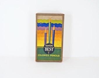 Vintage DIxon Colored Pencils