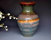 Pottery Flower Vase Handmade F