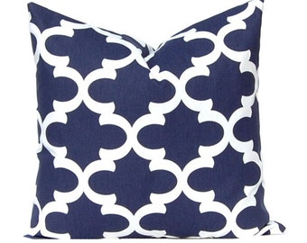 Navy Blue Pillow Covers Decorative Throw Pillow Covers