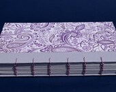 Coptic binding paisley notebook / journal
