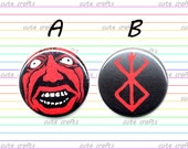 Berserk Behelit & Brand of Sacrifice Button or Magnet 1-inch