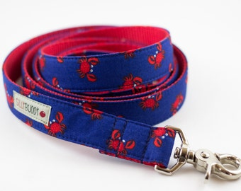 Red Crab Dog Leash
