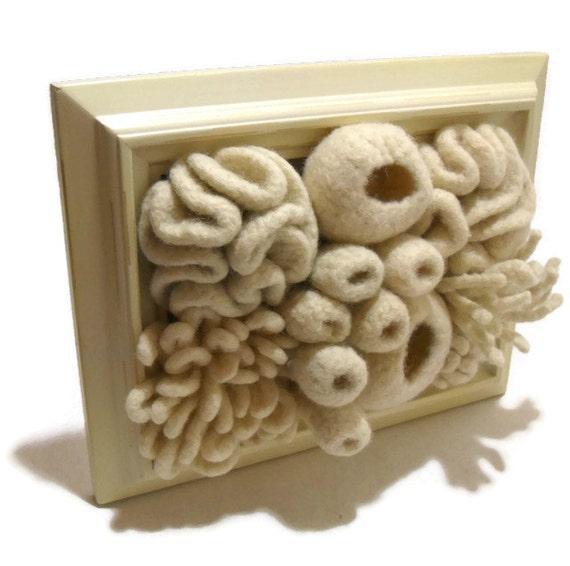 Crochet Coral Reef Fiber Art